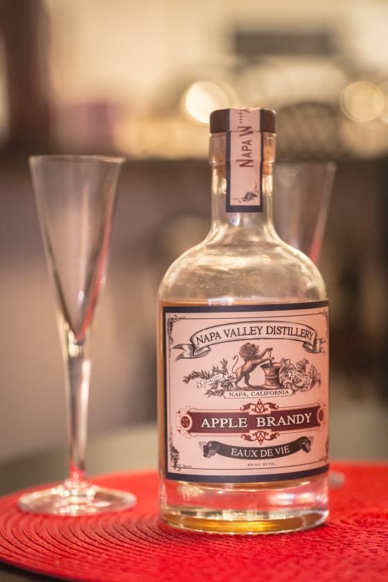 Napa Valley Distillery Apple Brandy www.sweetteasweetie.com