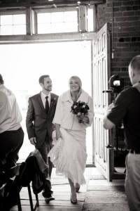 Wedding Entrance www.sweetteasweetie.com