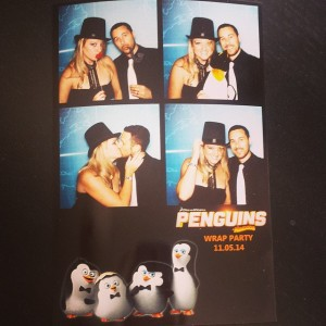 Penguins of Madagascar Wrap Party www.sweetteasweetie.com