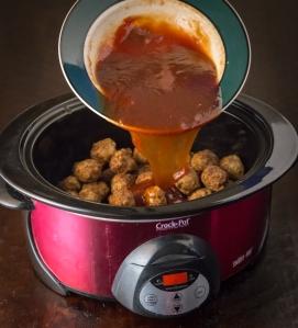 Bourbon Meatballs www.sweetteasweetie.com