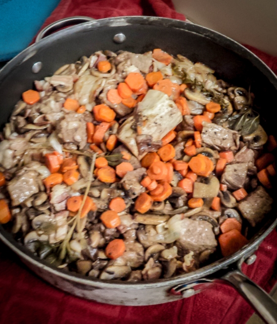 Beef Bourguigon French Cooking | www.sweetteasweetie.com
