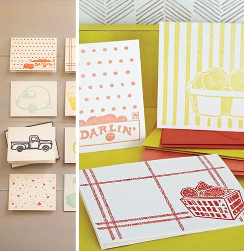 Fruit Notecards www.sweetteasweetie.com