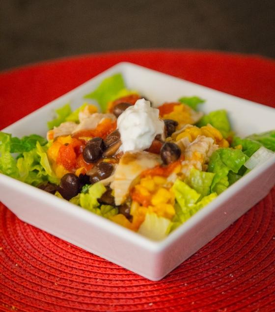 Tex Mex Salad www.sweetteasweetie.com