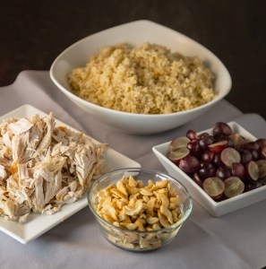 Road Trip Turkey & Wild Rice Salad | www.sweetteasweetie.com