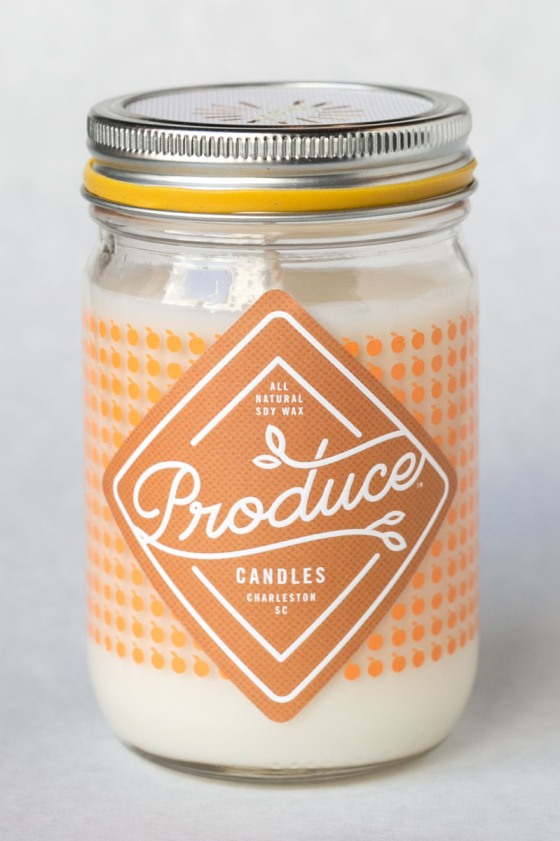 Produce Candles www.sweetteasweetie.com