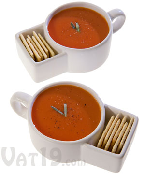 Soup and Cracker Mugs www.sweetteasweetie.com