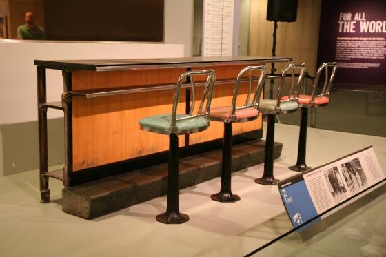 Greensboro Woolsworth Lunch Counter | www.sweetteasweetie.com