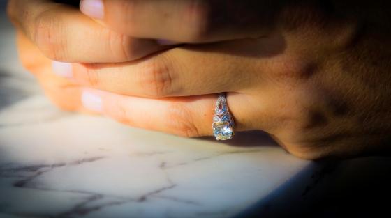 Viansa Engagement | www.sweetteasweetie.com